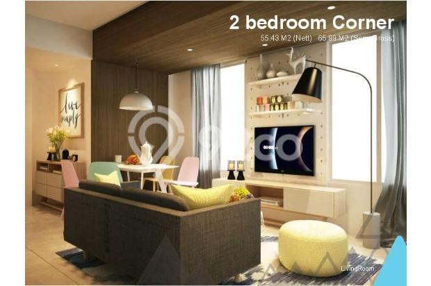 Dijual Apartemen Baru 3BR Murah Strategis di Skandinavia TangCity Tangerang 13132398