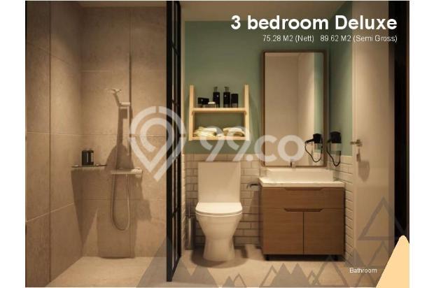 Dijual Apartemen Baru 3BR Murah Strategis di Skandinavia TangCity Tangerang 13132414