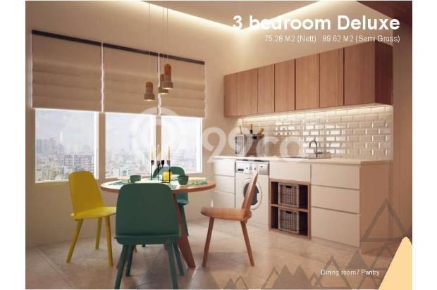 Dijual Apartemen Baru 3BR Murah Strategis di Skandinavia TangCity Tangerang 13132417
