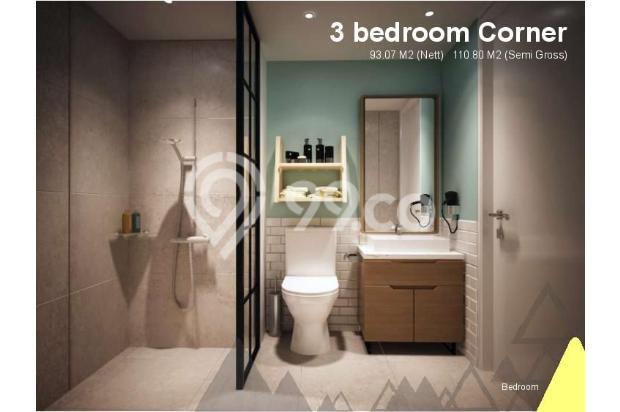Dijual Apartemen Baru 3BR Murah Strategis di Skandinavia TangCity Tangerang 13132420
