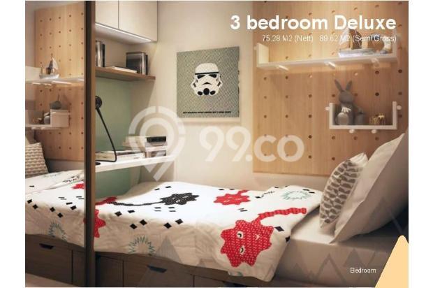 Dijual Apartemen Baru 3BR Murah Strategis di Skandinavia TangCity Tangerang 13132419