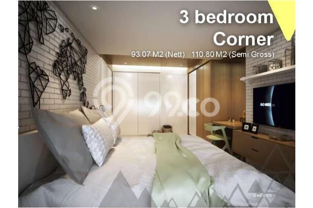 Dijual Apartemen Baru 3BR Murah Strategis di Skandinavia TangCity Tangerang 13132424