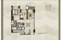 Condominium Podomoro City Deli Medan 2+1 Bedroom