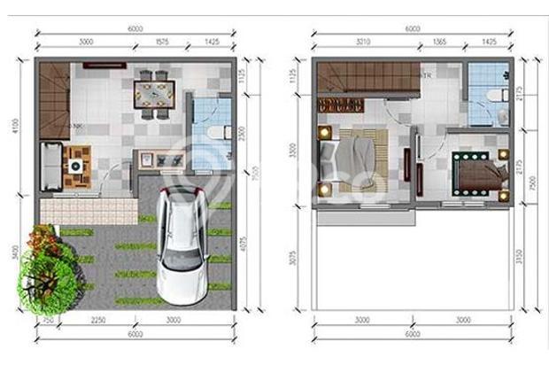 Dp rumah murah di Karawang hanya 11 juta an | Prim 14218439