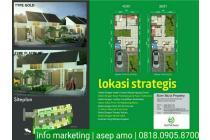 Rumah Cluster Baru Lokasi dekat Sangkuriang Cimahi