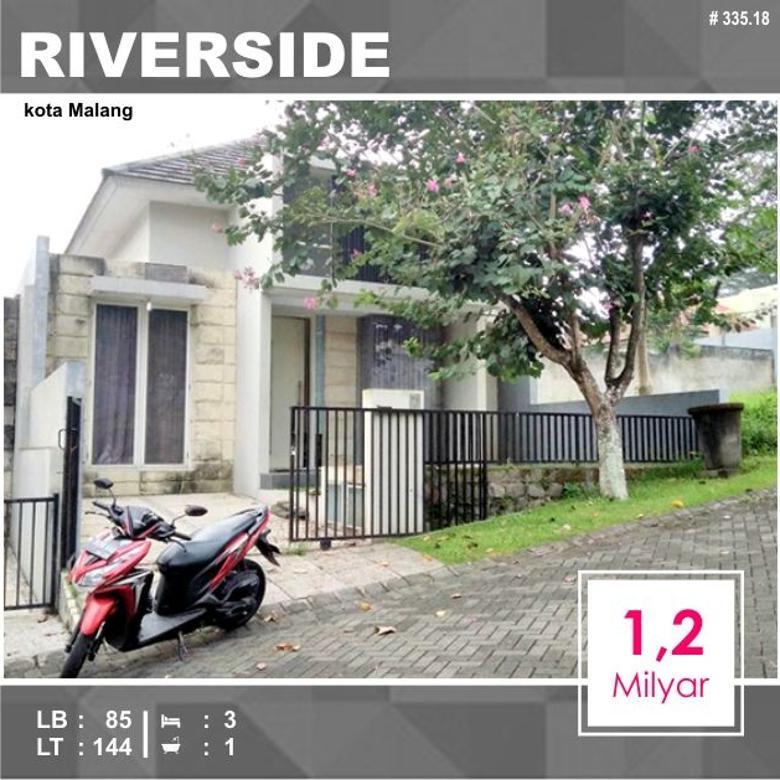 Rumah di Riverside kota Malang _ 335.18