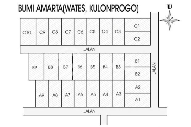 Tanah Kapling Wates: Cash Tempo 12 X Cicil Bebas Bunga 17698847