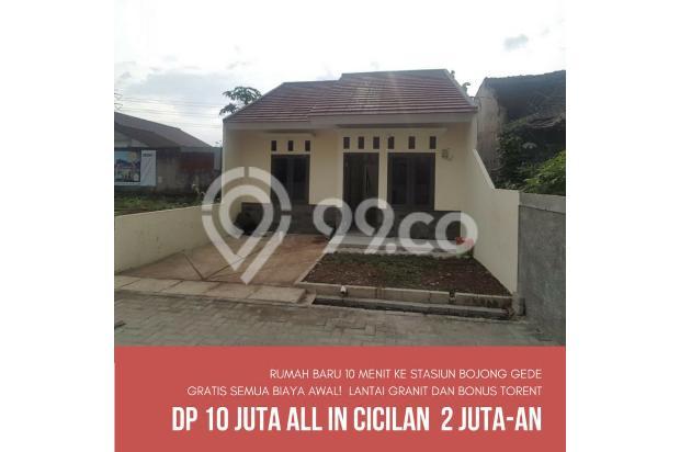 rumah murah dekat stasiu bj gede DP 10jt free semua biaya 13698384
