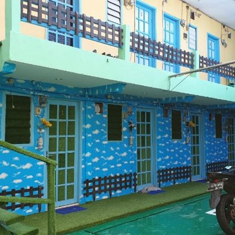 Dijual Rumah Kost Aktif 105 Kamar di Paseban, Jakpus