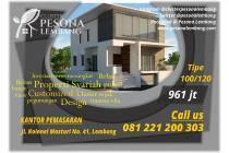 Sangat nyaman rumah nuansa villa di Lembang - Bandung properti syariah