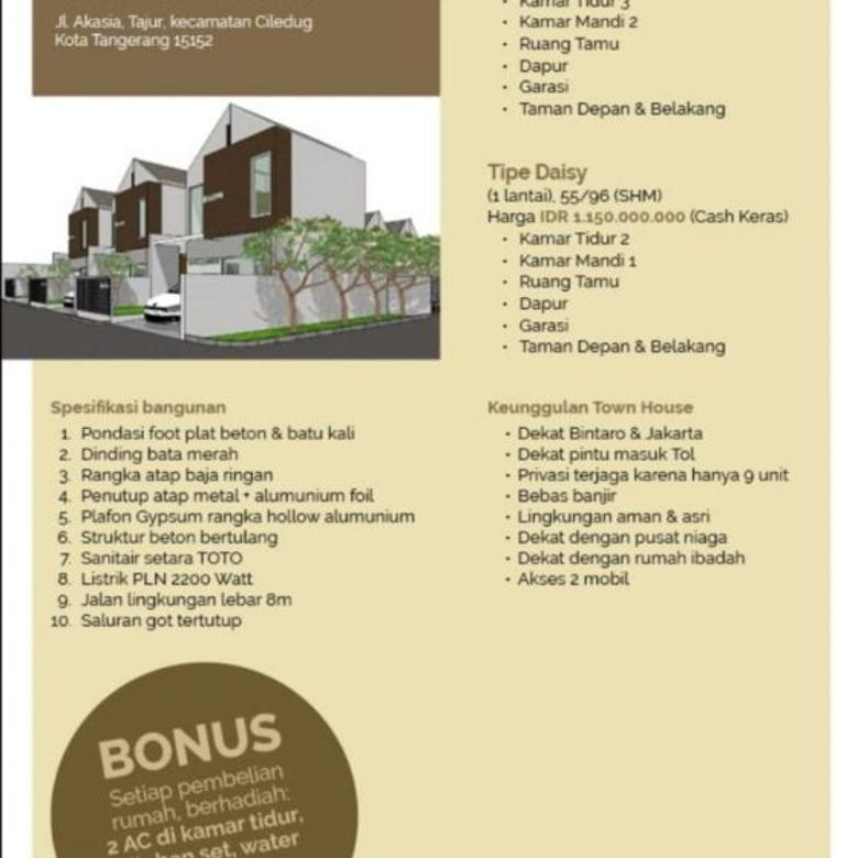 Desain Dapur Dekat Garasi rumah tangerang murah berhadiah lokasi stretegis