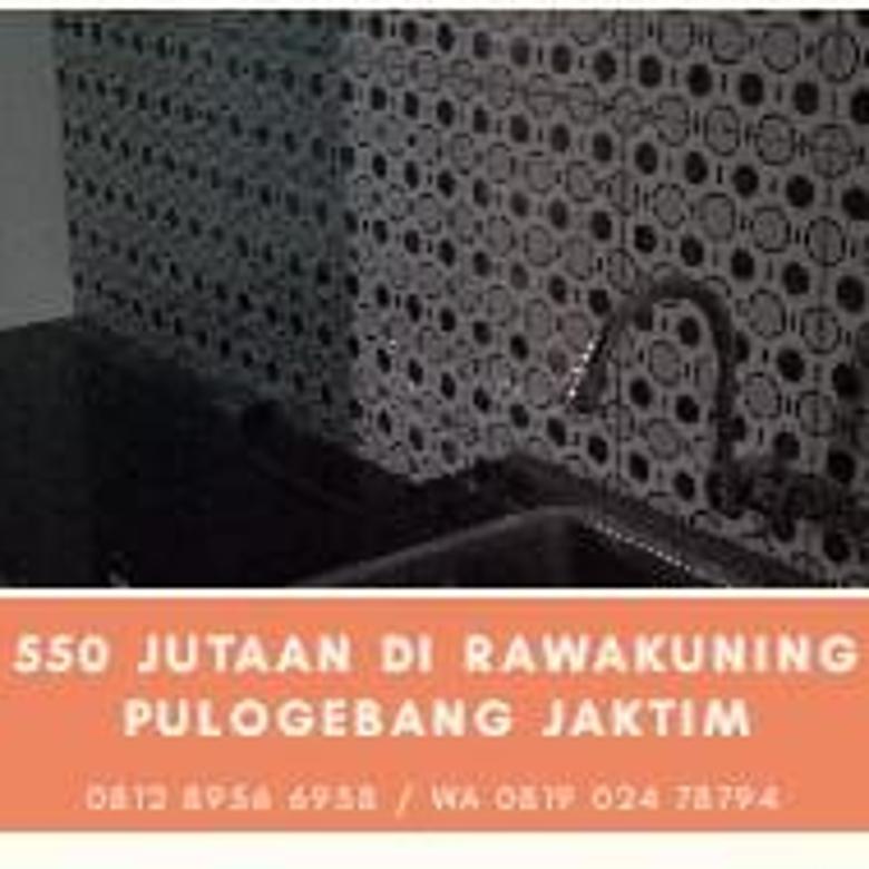 Rumah 2 Lantai Disekitaran Pulogebang Kirana,690 Jutaan