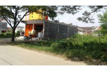 tanah kavling jalan utama di perumahan kota serang baru cikarang selatan
