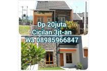 Rumah Dijual di Daerah Cileunyi, Cicilan 3 jutaan, Bebas Banjir, Dekat Jln