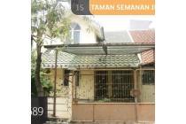 Rumah Taman Semanan Indah, Jakarta Barat, 7.5x15m, 1 Lt