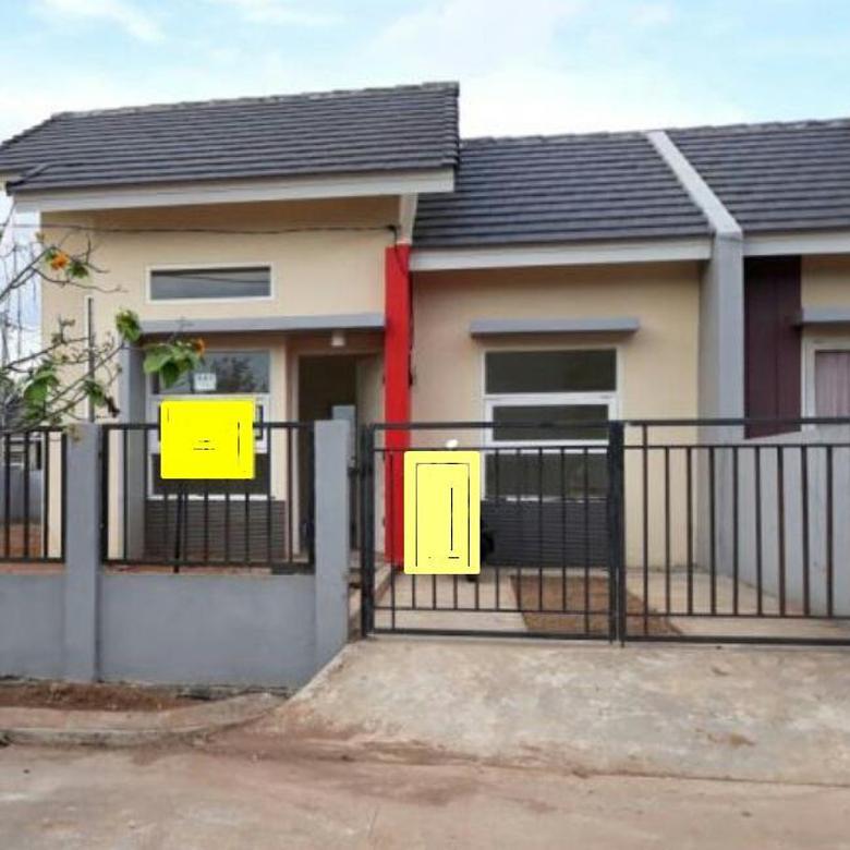 Rumah Hoek  Tanah Sangat Luas  Ukuran 52/160, Cileungsi, Cibubur