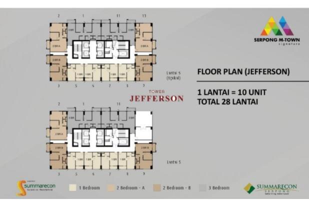Rp2,29mily Apartemen Dijual