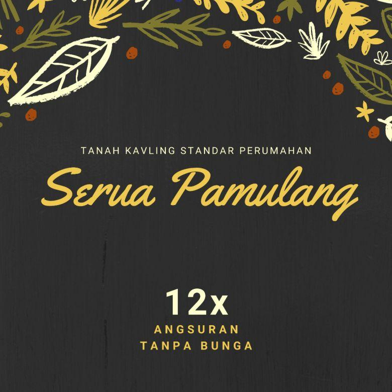 Kavling Tanah Green Serua Dekat Tol Serpong-Cinere