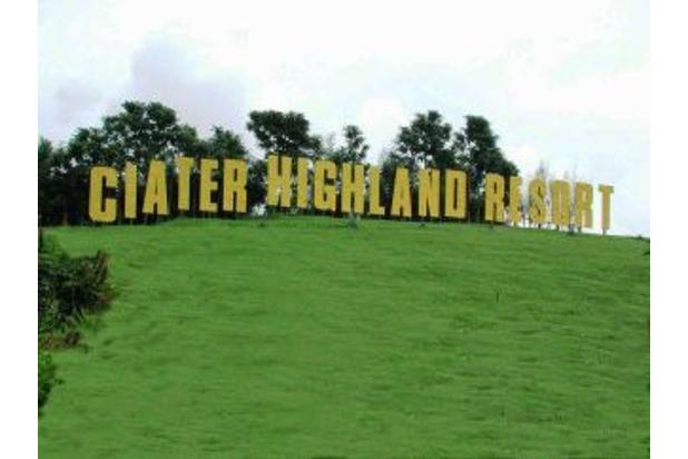 Dijual Tanah Kavling Strategis Di Ciater Highland Resort Ciater Subang 16846051