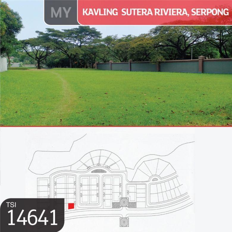 Kavling Sutera Riviera, Serpong, Tangerang, 716 m², SHM