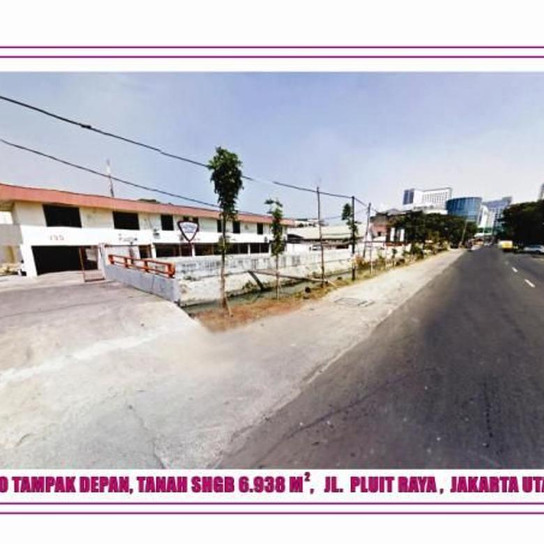 Dijual Gedung Kantor dan Gudang di Pluit Jakarta