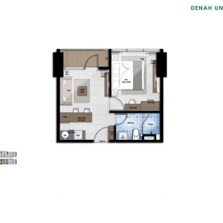 Nice Unit For Sell @Ciputra World 2 - Newton - Best Price - Best Unit
