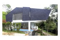 Hunian mewah semi villa di dago village bandung;privat pool