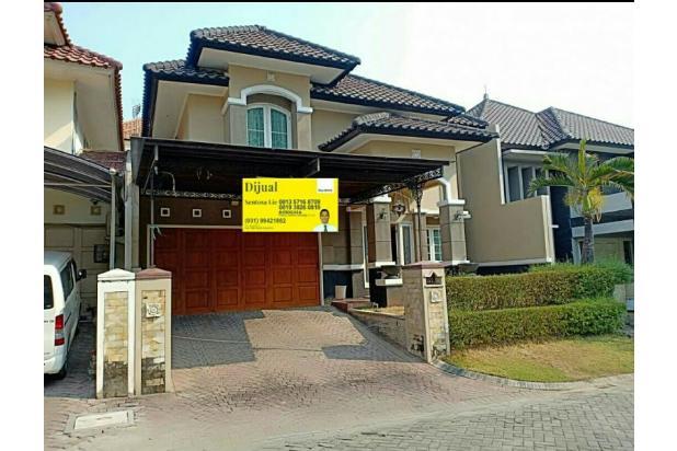 *Villa Regency Pakuwon Indah* *#FULL FURNISHED#*  Bonus: *Canopy Carport* Istimewa Cluster terdepan  19584203