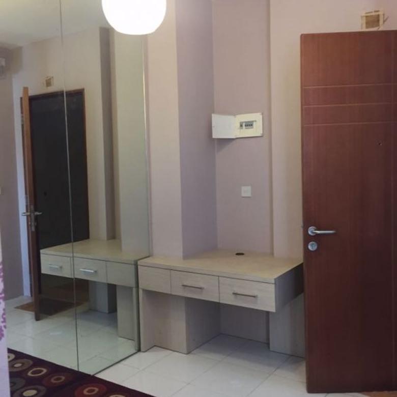 Apartemen 1BR berperabot lengkap cantik di Eastcoast, Surabaya