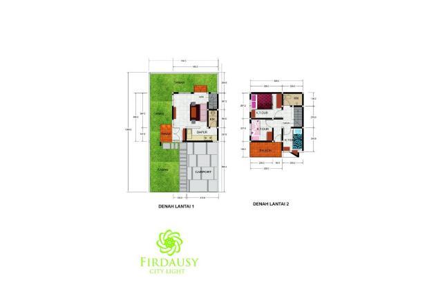 Dijual Rumah murah di Bandung Timur tanpa denda tanpa sita 13704401