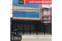 Ruko Duri Kosambi Raya, Jakarta barat, 10x22.8, 3 Lt, SHM