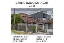 Rumah Darmo Harapan Indah Surabaya Nyaman Tenang KPR Hook Pojo