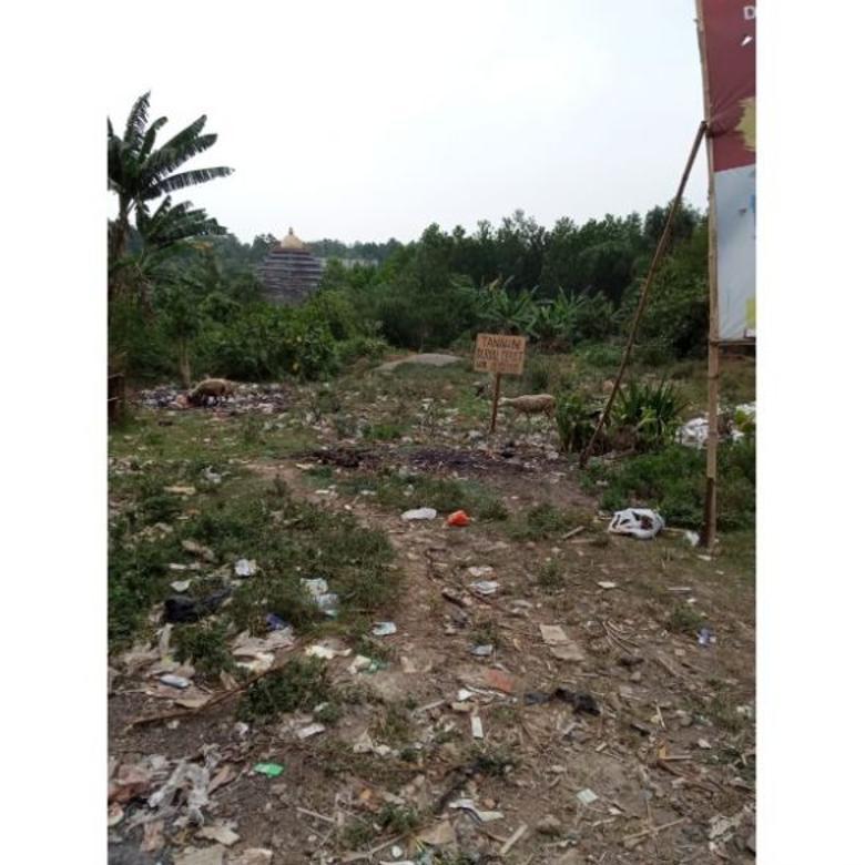 Dijual Tanah Kosong 1 Hektar Pinggir Jalan di Parung Panjang,