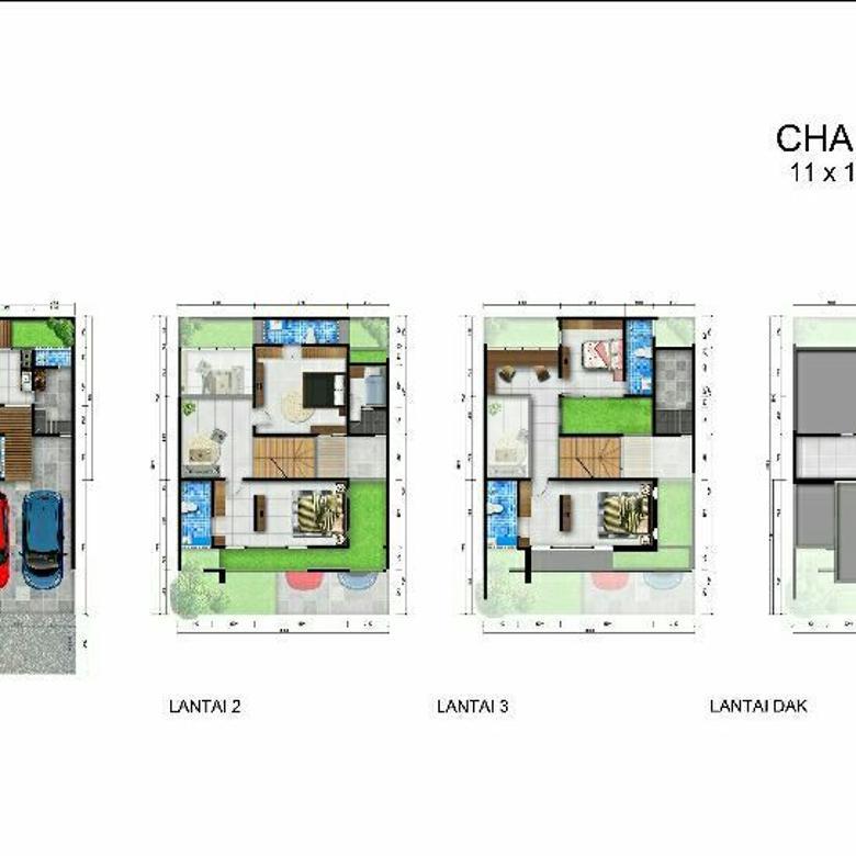 Rumah Medan Dijual di Gaperta Ujung (Chanel)