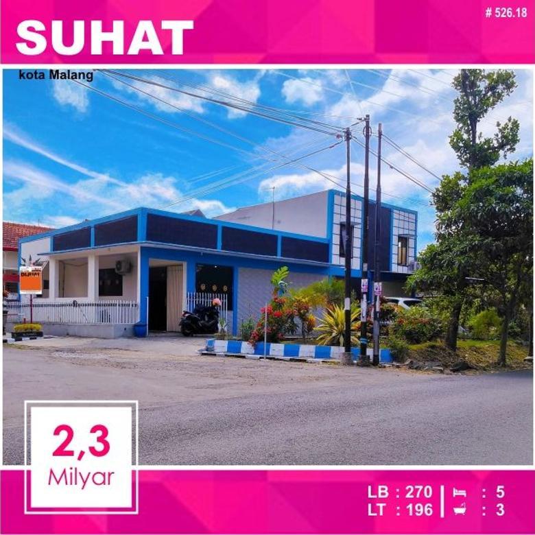 rumah kantor hook strategis di suhat kota malang _ 525.18