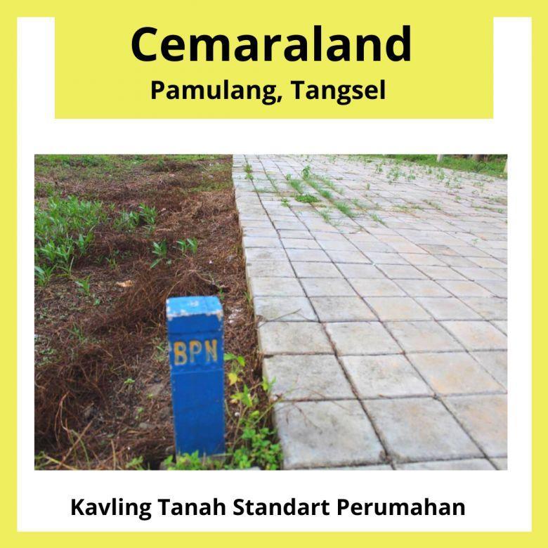 Tanah Siap Bangun Di Pamulang Tangsel, Legalitas SHM