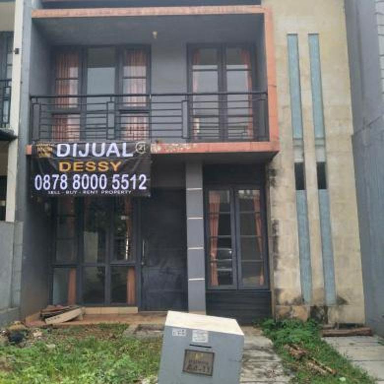 rumah 2 lantai di dalam cluster cibubur residence
