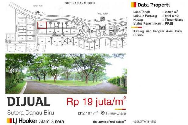 Rp41,5mily Tanah Dijual