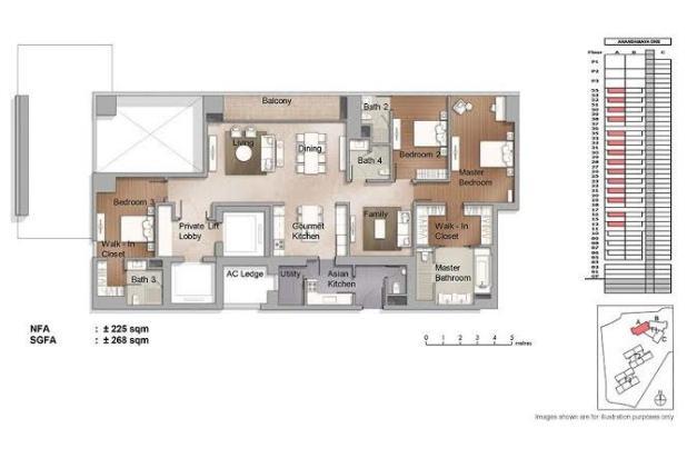 Rp23,5mily Apartemen Dijual