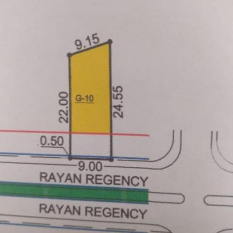 Rumah Rayan Regency , Strategis