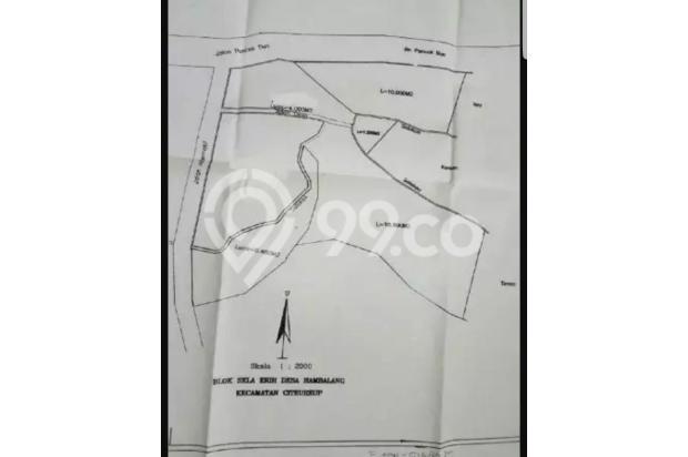 Dijual Cepat Tanah Strategis di Jl Puncak 2 Hambalang Citereup Bogor 17825918