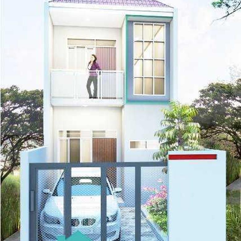 Rumah 2 lantai BARU BANGUN Modern Minimalis! Kebon Kopi Bandun
