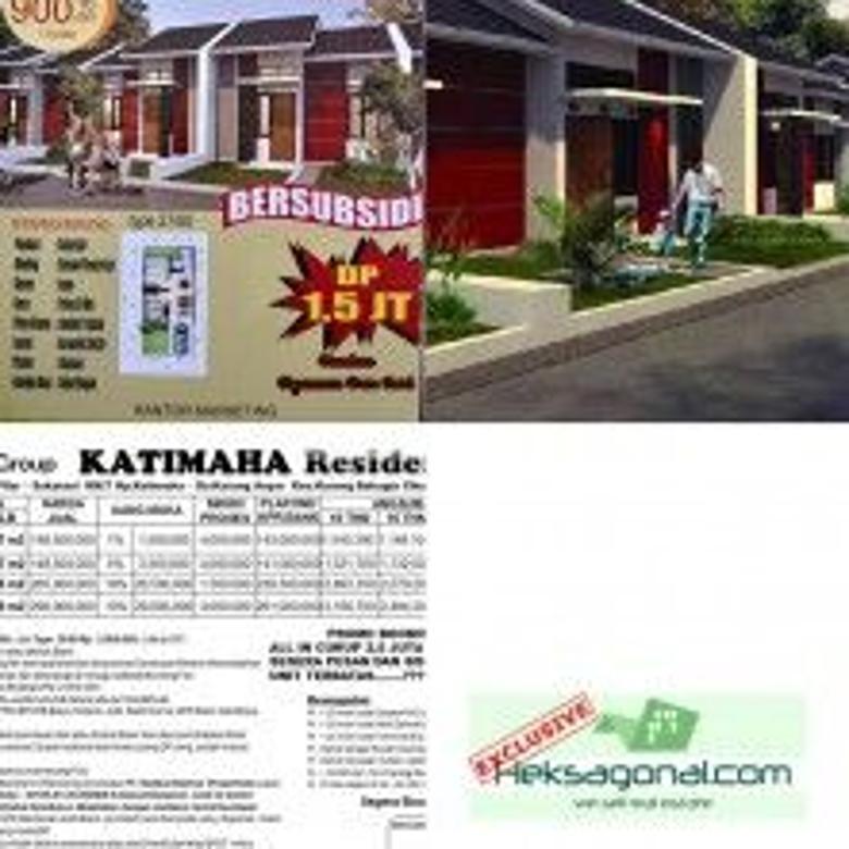 Rumah Subsidi Dijual Katimaha Jalan Pilar Sukatani Cikarang Bekasi hks6115