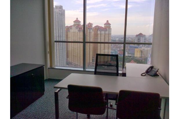 office space apl central park uk 578m2 hanya 30m full furnish,lengkap