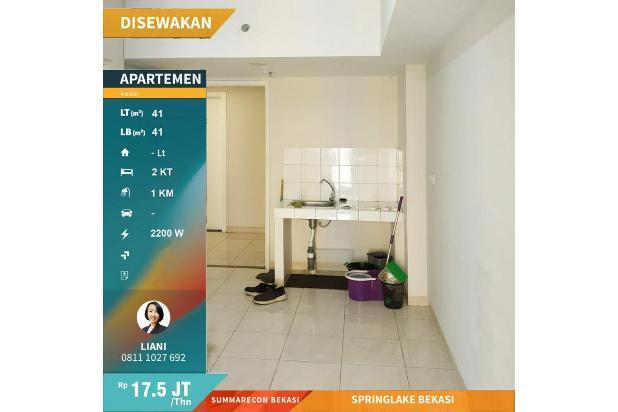 Rp17,5jt/thn Apartemen Disewa