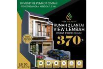 Harga Promo terjangkau rumah 2 lantai di Cimahi Utara