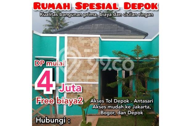 Bayar DP 4 Juta Dapat Rumah di Depok 18273043