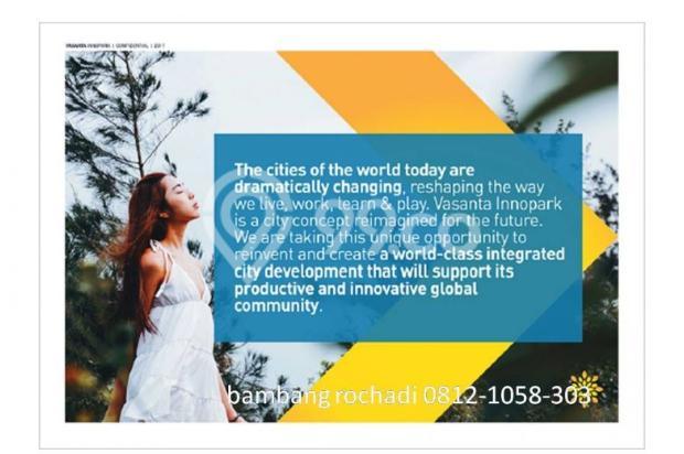 Apartemen dan Ruko di kawasan MM2100 cibitung Vasanta Innopark 12299206