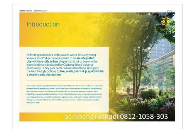 Apartemen dan Ruko di kawasan MM2100 cibitung Vasanta Innopark 12299208