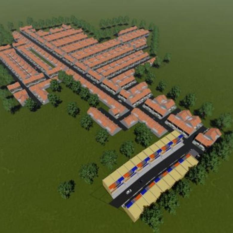 rumah cluster asri nan minimalis di bandung selatan
